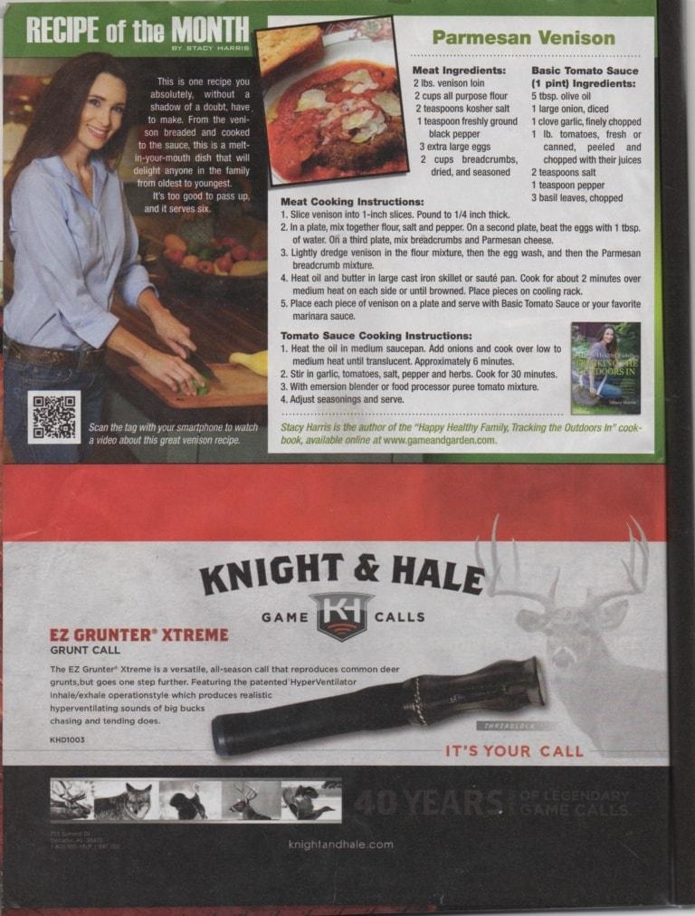 Buckmasters Magazine Article-October Issue