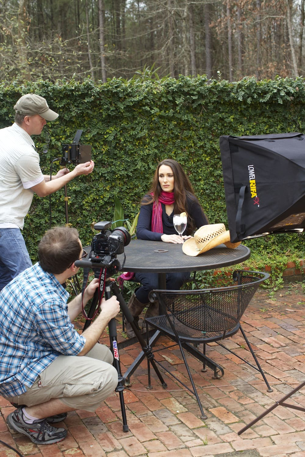 Filming for Sustainable DVD