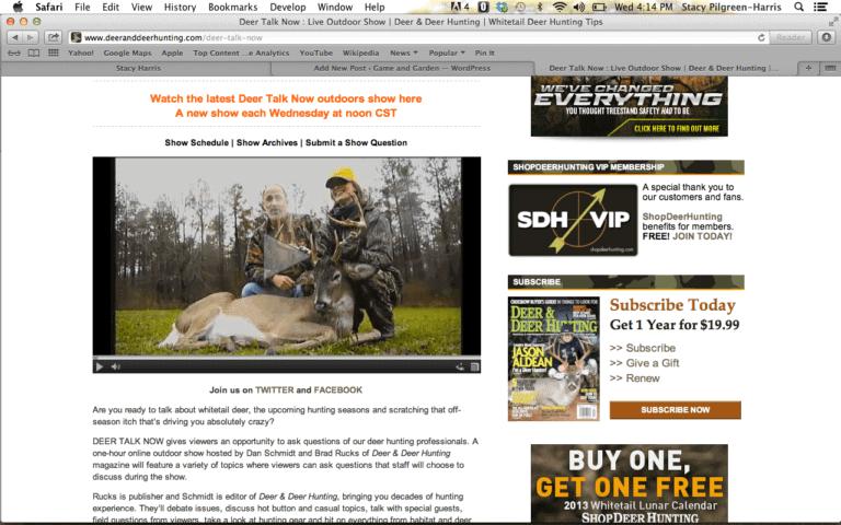 Interview on Deer Talk Live