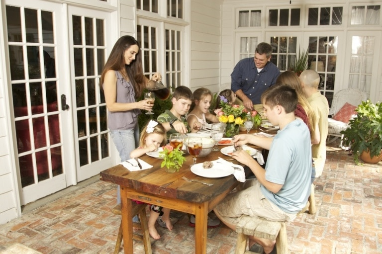 Managing a Family of Nine: Food