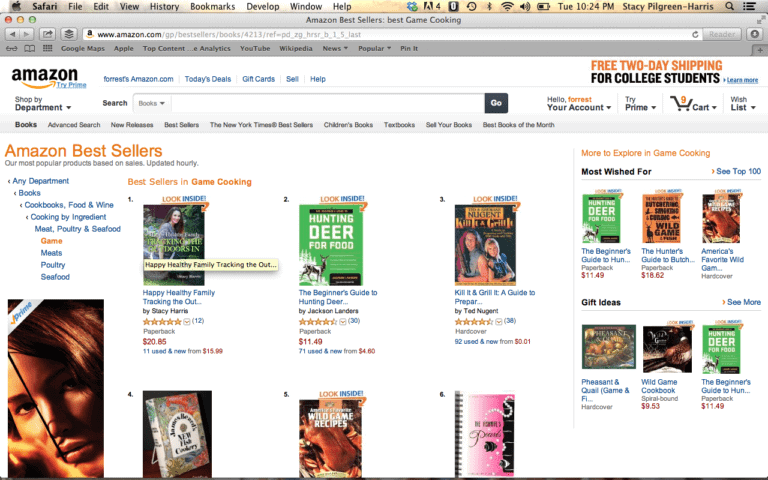 Happy Healthy Family Tracking the Outdoors In #1 Best Seller in Game Category