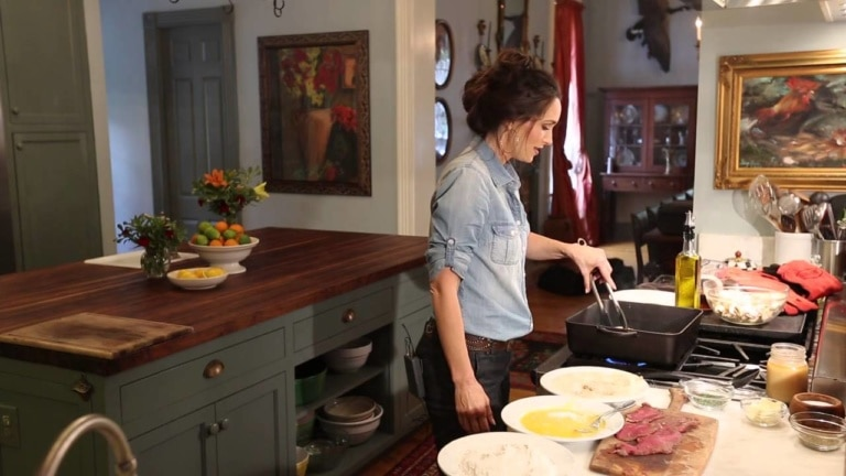 Sneak Peek of Filming for Sporting Chef TV Show