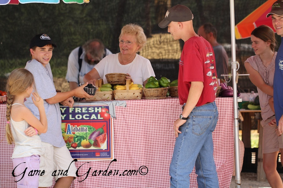 I love the spirit of farmer's markets. People are always so low key, kind, and gracious!