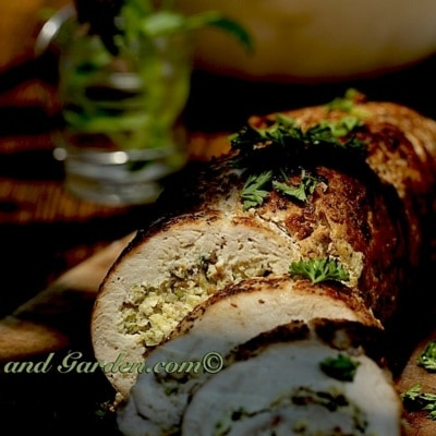 Best Stuffed Turkey Breast Ever  – Wild or Free Range