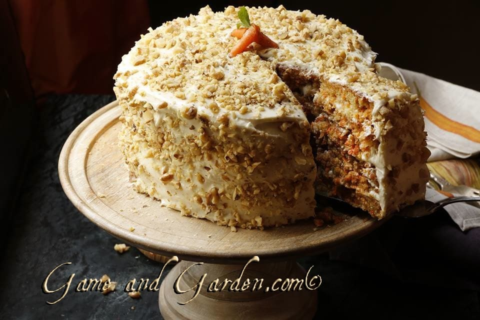 This carrot cake is scrumptious! Recipe coming soon. This was Hunter's choice for his birthday.