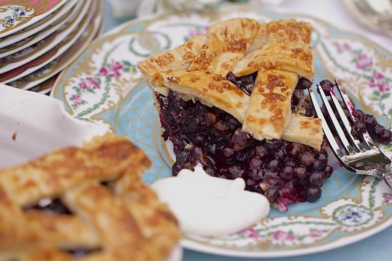 Southern Wild Blueberry Pie…Yummmm