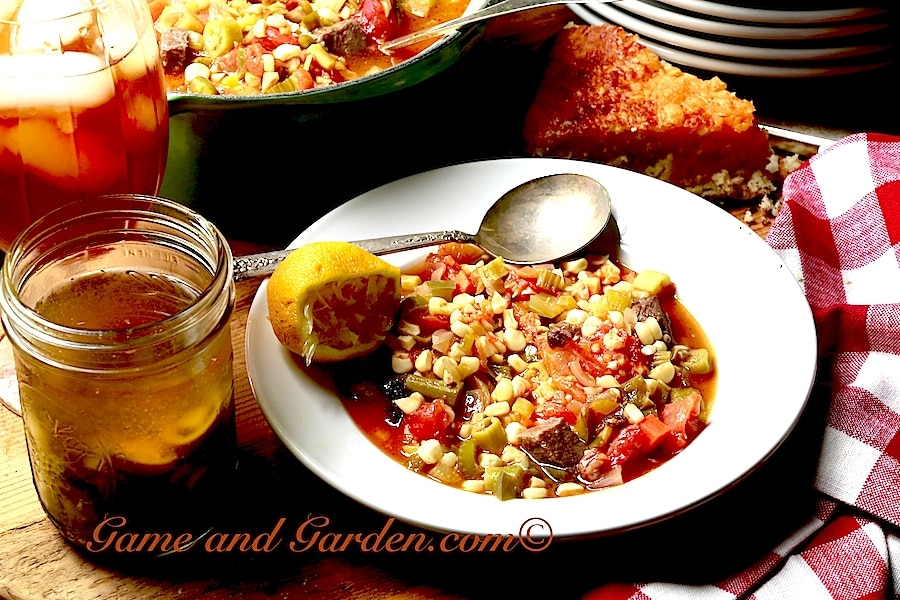 Stacy's Southern Okra Succotash is one of my favorite okra recipes inspired by Granny's fresh organic kitchen.