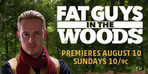 "Interview and Review of Creek Stewart, Host of Weather Channel's ""Fat Guys In the Wood"""
