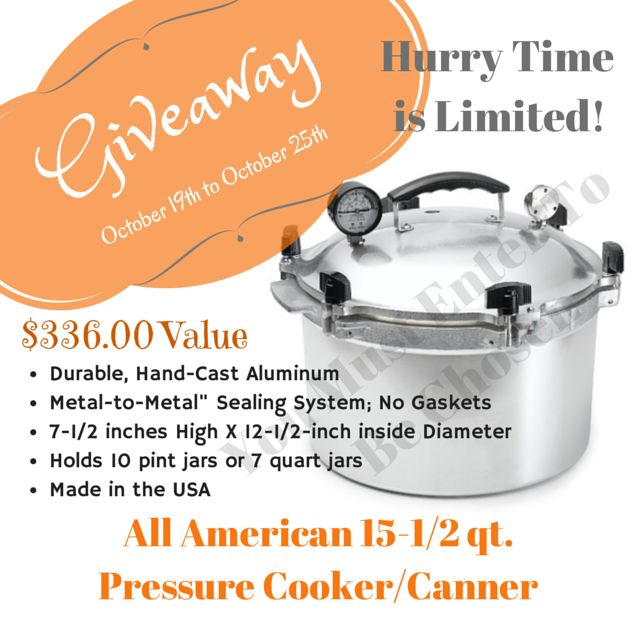 You will love this give-away! I have used mine for years!