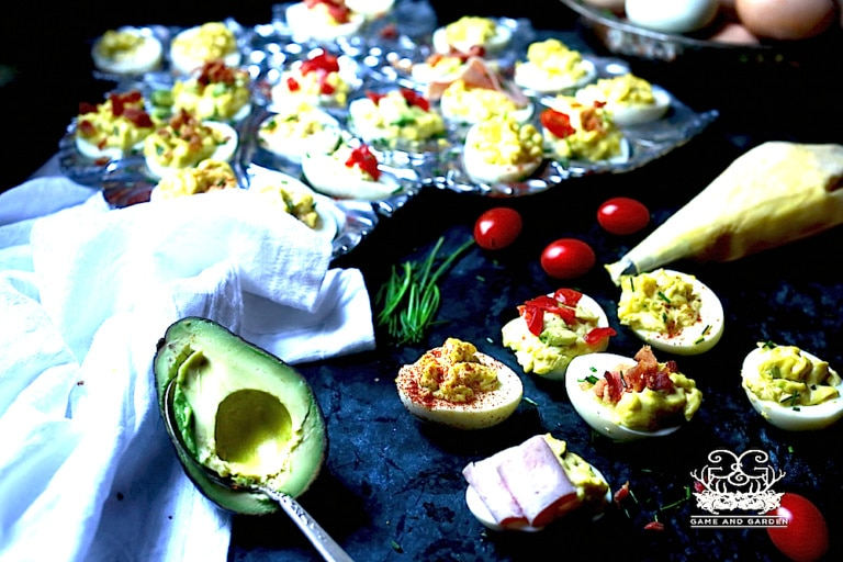 Deviled Eggs: Traditional and Not
