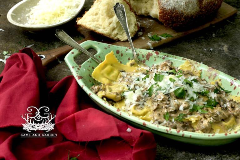 Homemade Sausage Ravioli Recipe