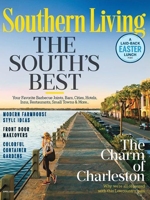 Southern Living Magazine, April 2017