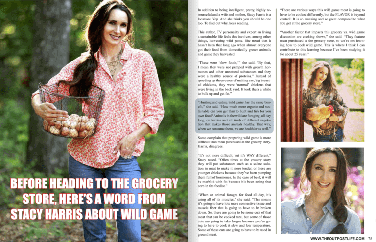 Stacy Lyn Harris Featured in Outpost Magazine