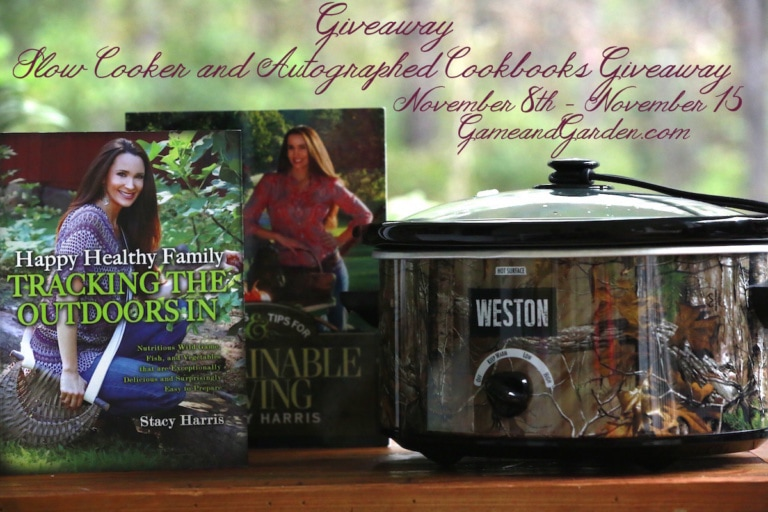 Slow Cooker and Cookbook Giveaway
