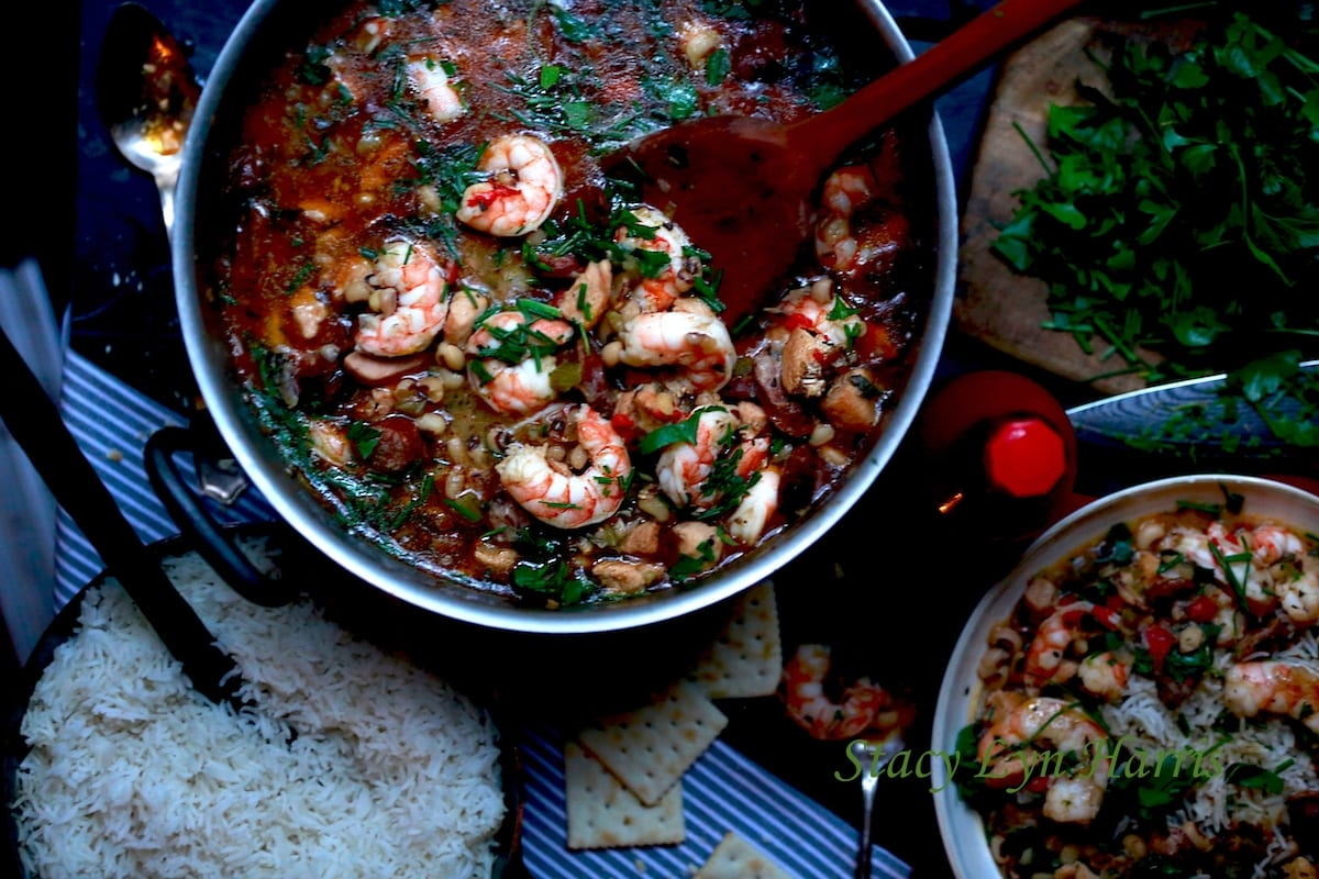 Black-Eyed Pea Gumbo - Perfect Fusion Food | Stacy Lyn Harris
