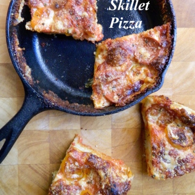 Cast Iron Cooking: Easy Skillet Pizza