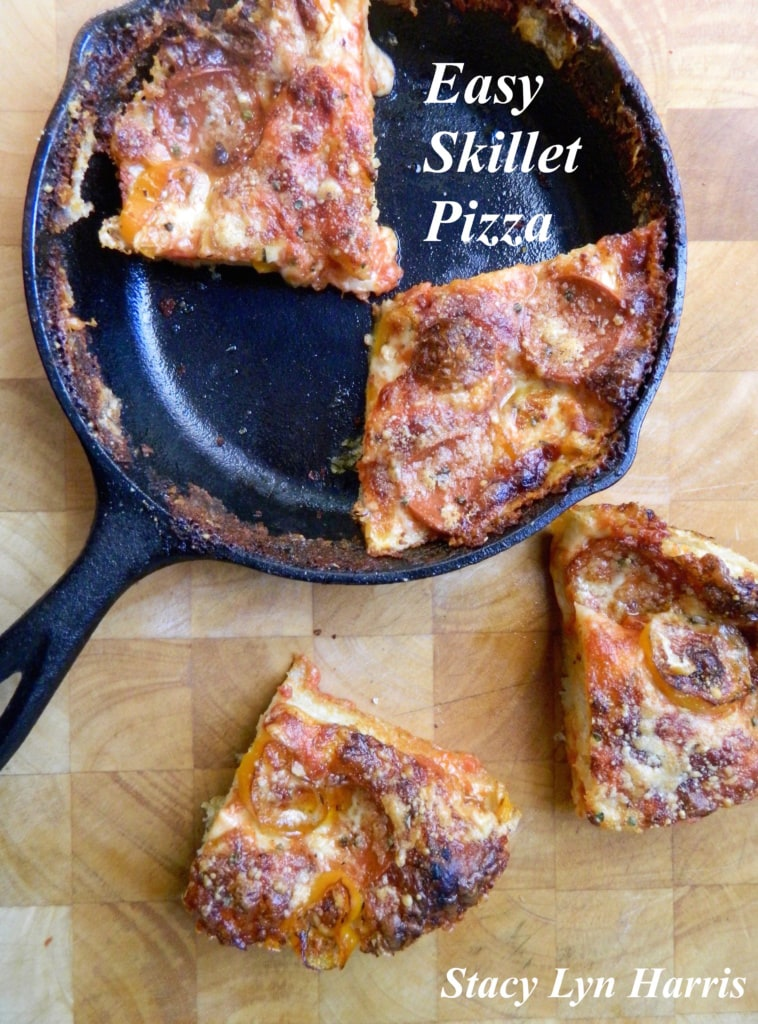 Easy Skillet Pizza 2