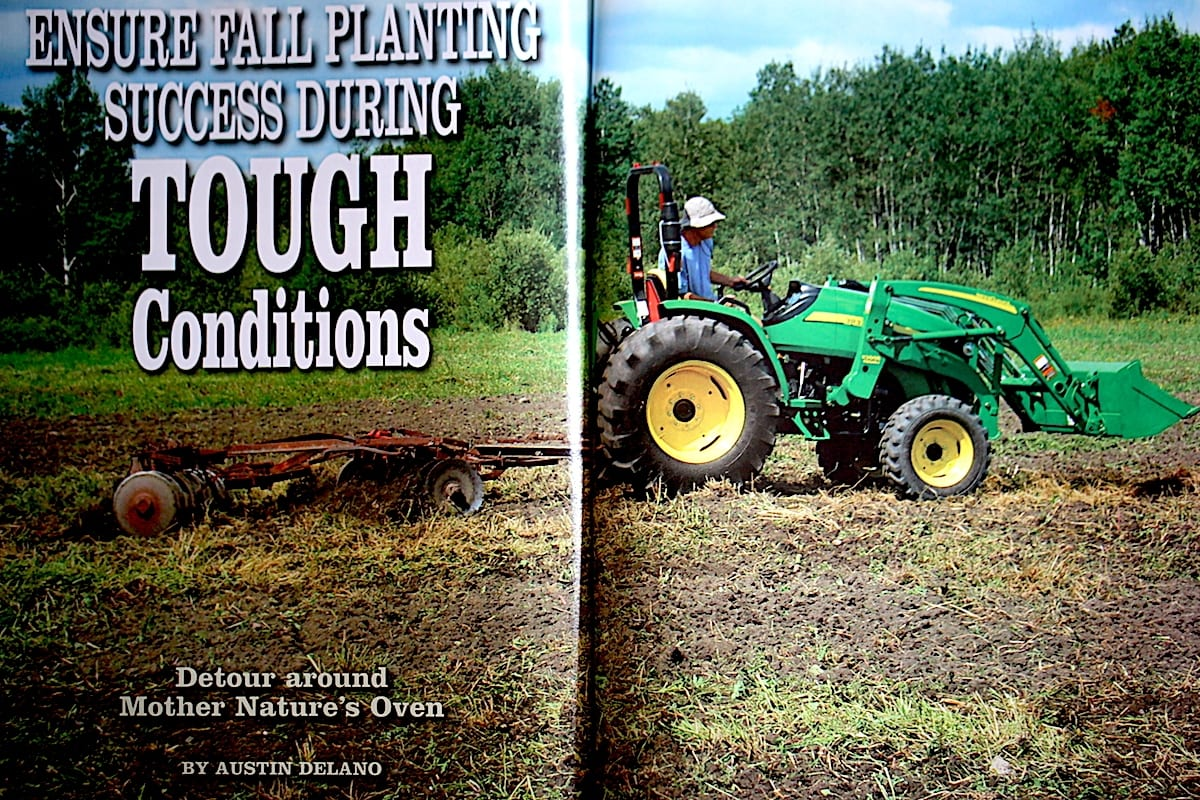 Everyone needs to know what to do with the land during a drought.