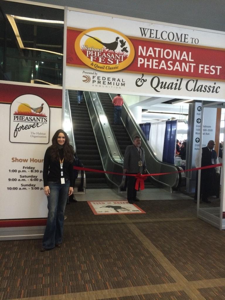 Speaker and Demo – Pheasant Fest and Quail Classic 2016