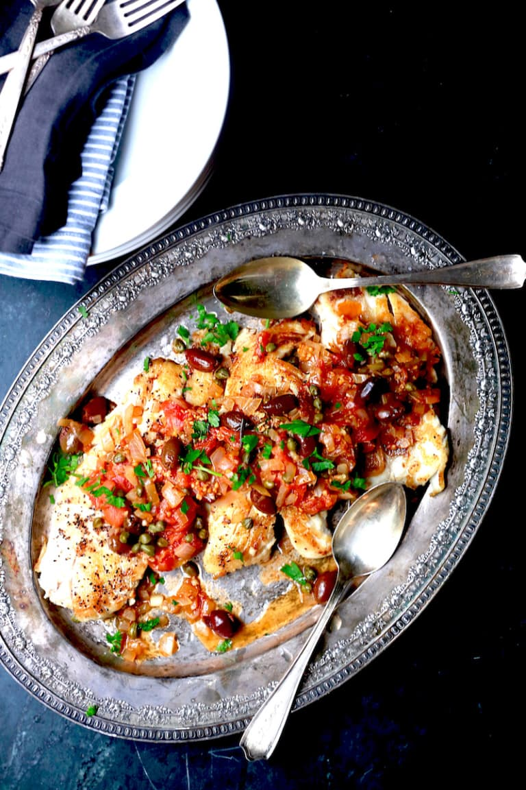 Greek Snapper: 20 Minute Meal