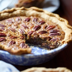 Simple Southern Bourbon Pecan Chocolate Chip Pie