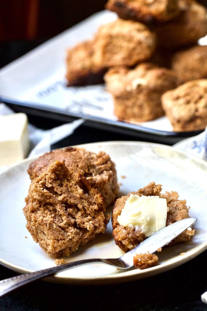 Cinnamon and Sugar Buttermilk Biscuit