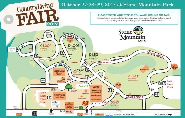 Country Living Fair – Stone Mountain, GA