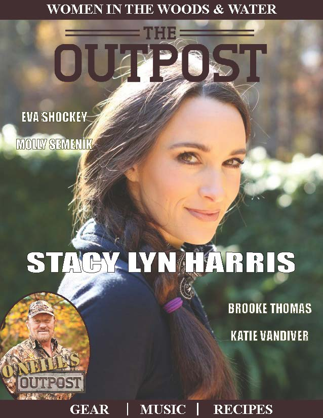 Stacy Lyn Harris/Cover of Outpost Magazine
