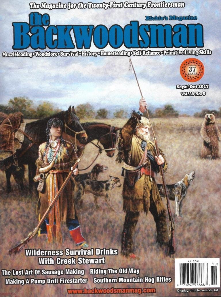 Backwoodsman Magazine, Nov. 2017