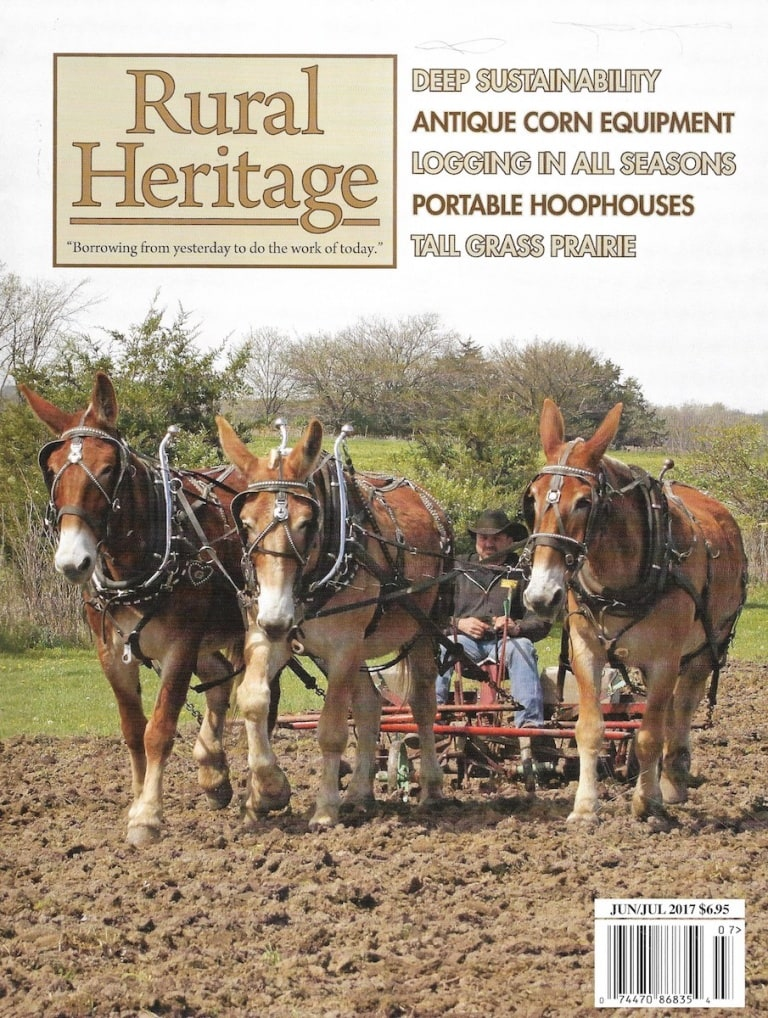 Rural Heritage Magazine: Feature Stacy Lyn Harris
