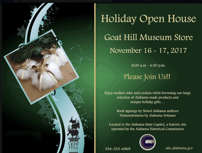 Goat Hill Museum Book Signing