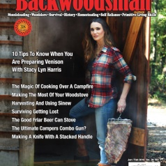 Stacy Lyn Harris, First Woman on Backwoodsman Magazine Cover