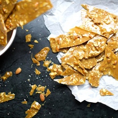 Easy to make almond brittle recipe