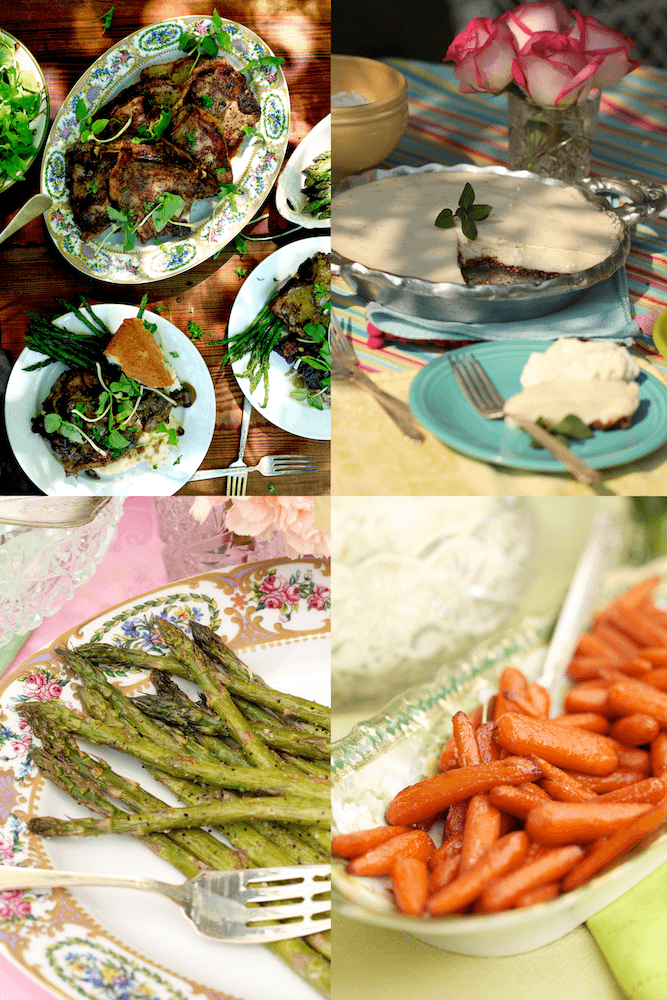 Round up of easter dishes