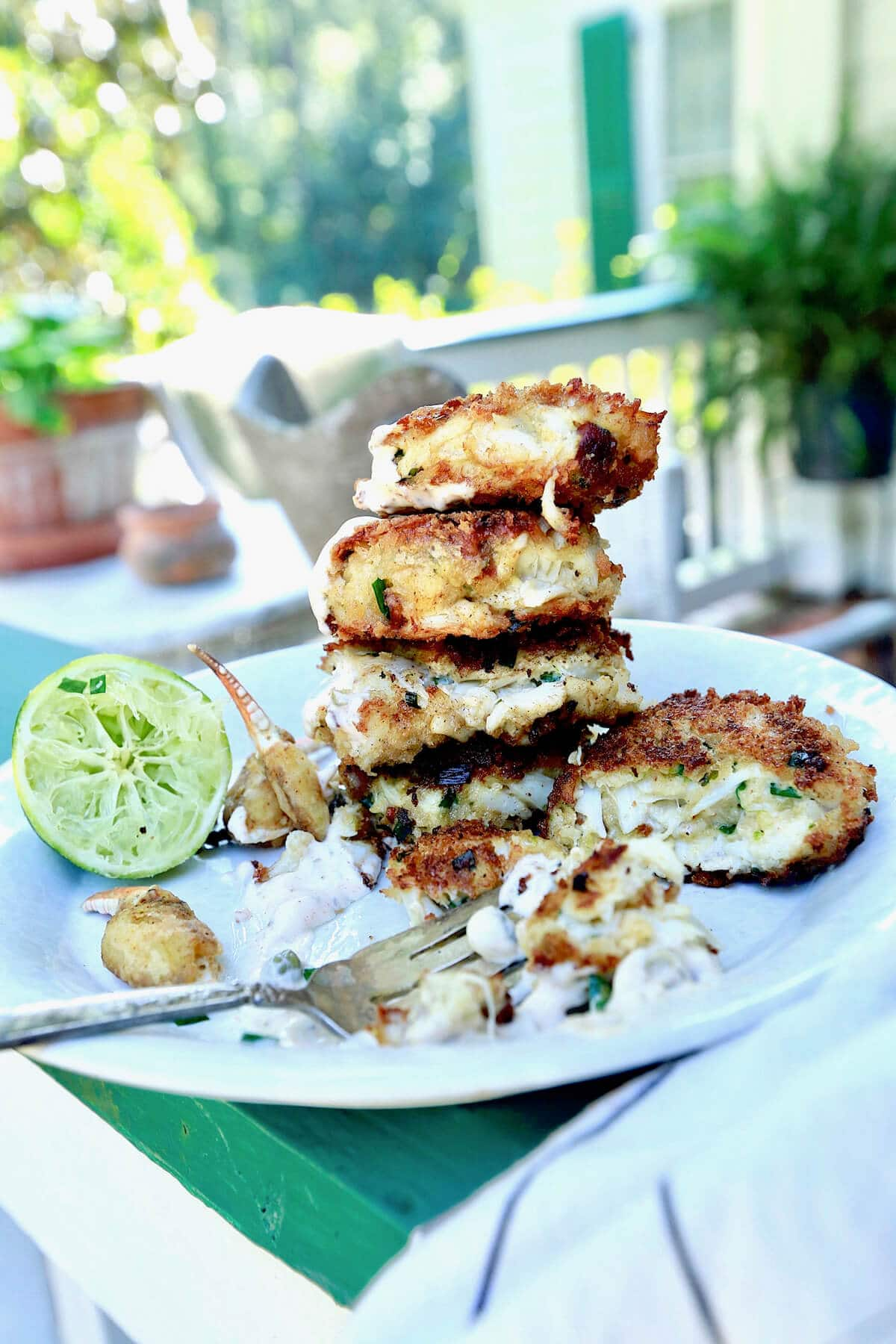Stacy Lyn's crab cakes made from easy recipe