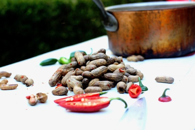 Southern-Style Boiled Peanuts