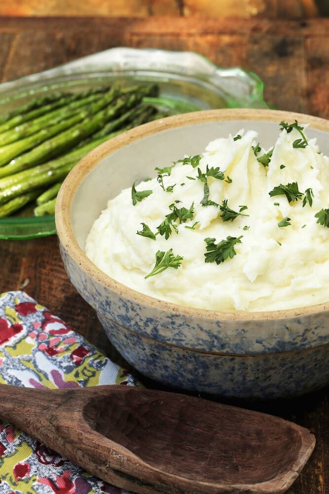 Garlic mashed potatoes recipe by Stacy Lyn Harris