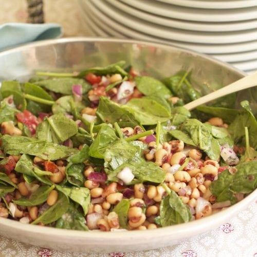 Black-eyed peas salad, recipe by Stacy Lyn Harris