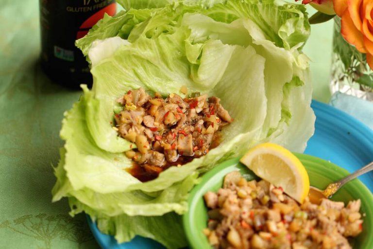 Quail Lettuce Wraps
