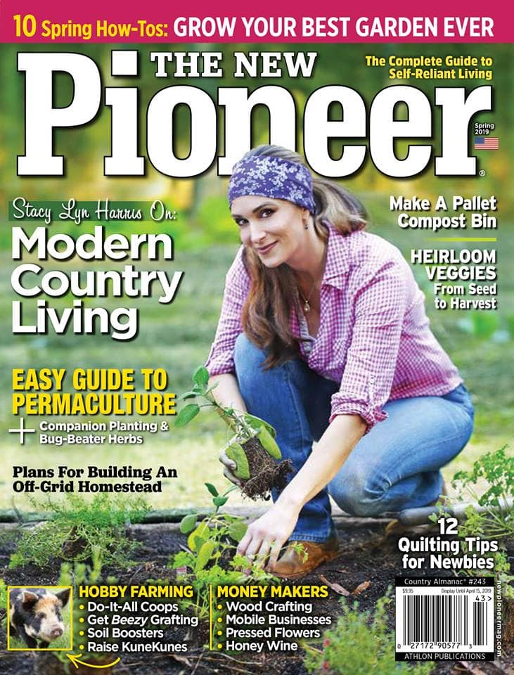 Stacy Lyn Harris Featured in Spring 2019 Issue of The New Pioneer