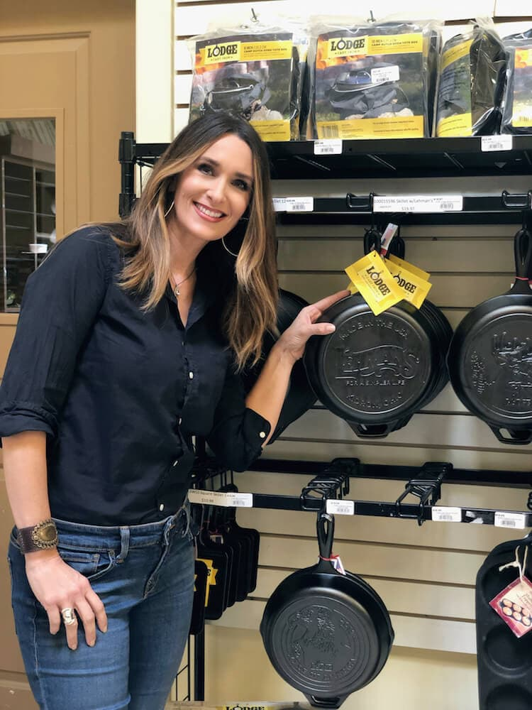 Stacy Lyn Harris in Kidrin Ohio at the 2019 Country Living Workshop event hosted by Lehman's Hardware