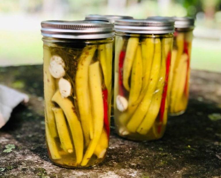 Classic Pickled Okra