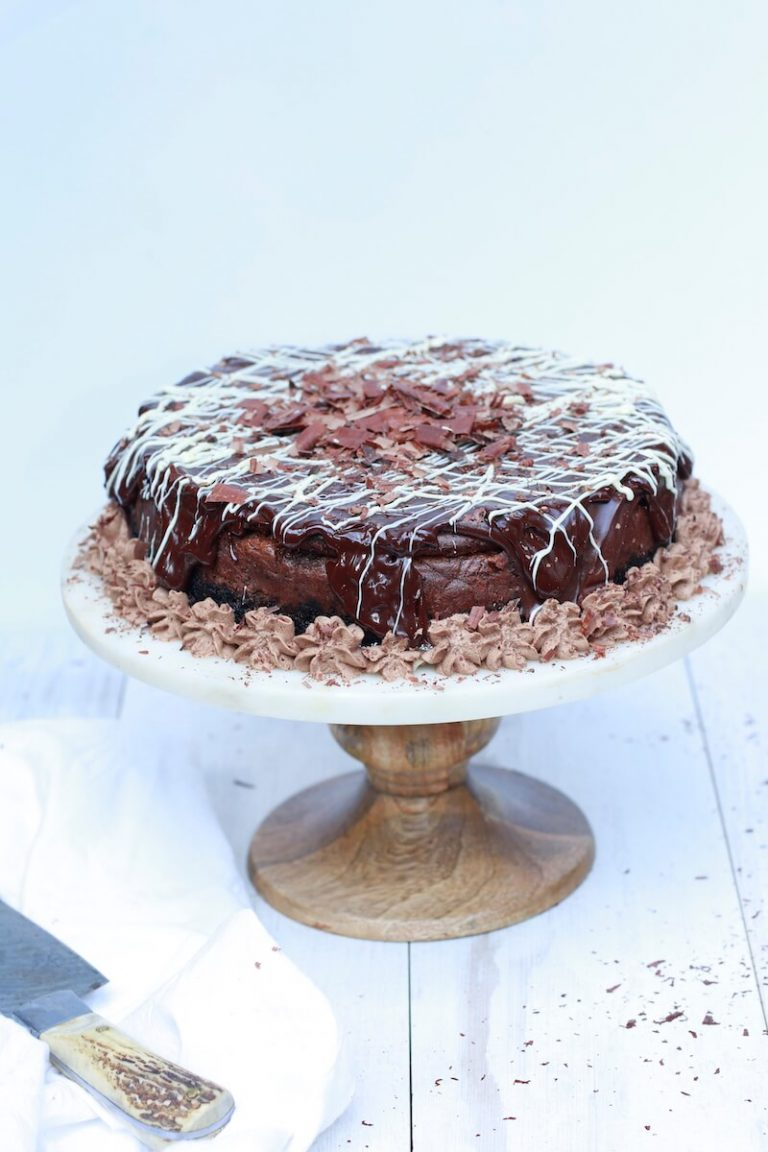 Stacy Lyn's Ultimate Chocolate Cheesecake with Silky Ganache