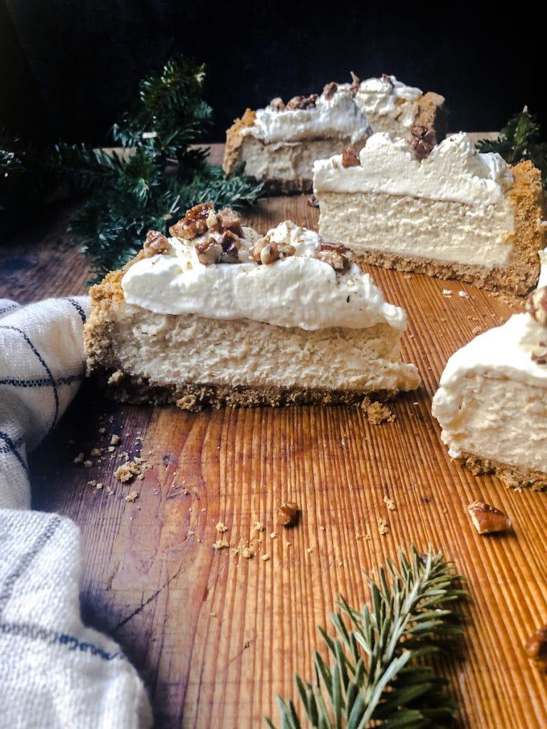 Eggnog Cheesecake – No Fail Recipe!