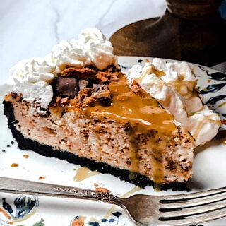 butterfinger cheesecake - the best version!