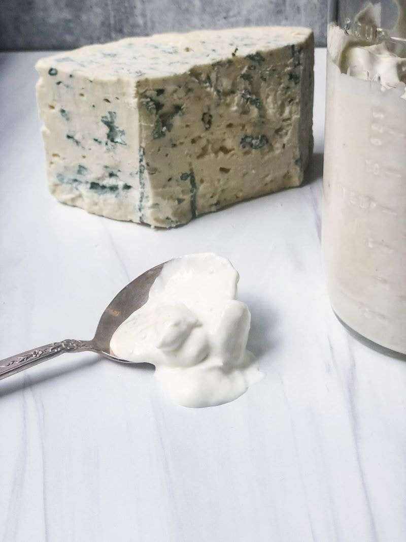 blue cheese dressing with buttermilk and sour cream