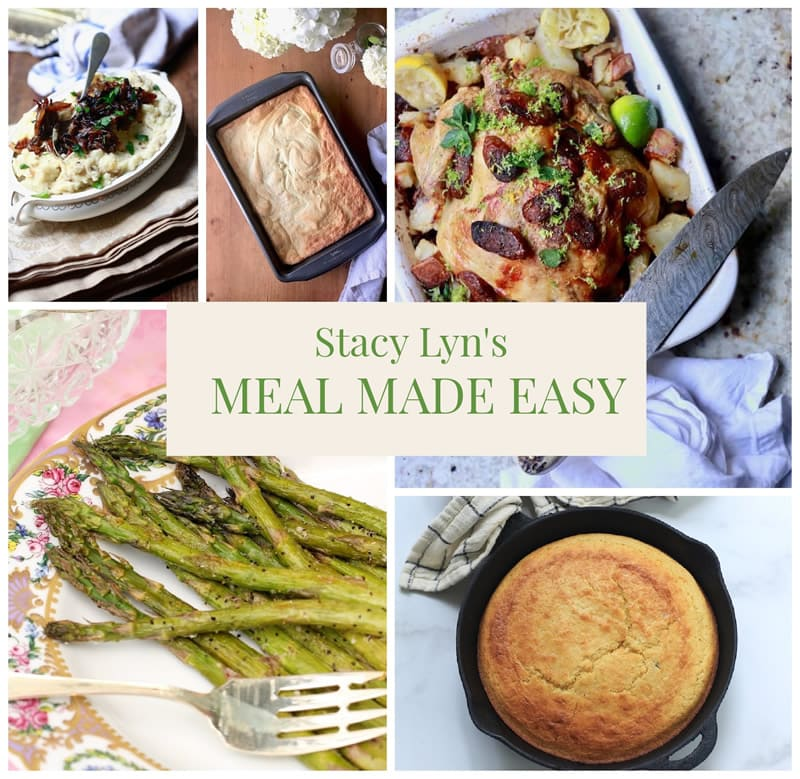 Meal Made Easy with Stacy Lyn - Chicken with Gremolata, Sweet Cornbread, and more