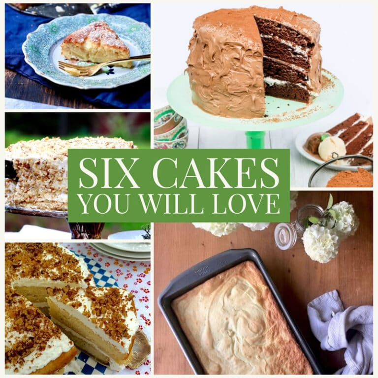Cake Recipes Roundup – Find Your Favorite!
