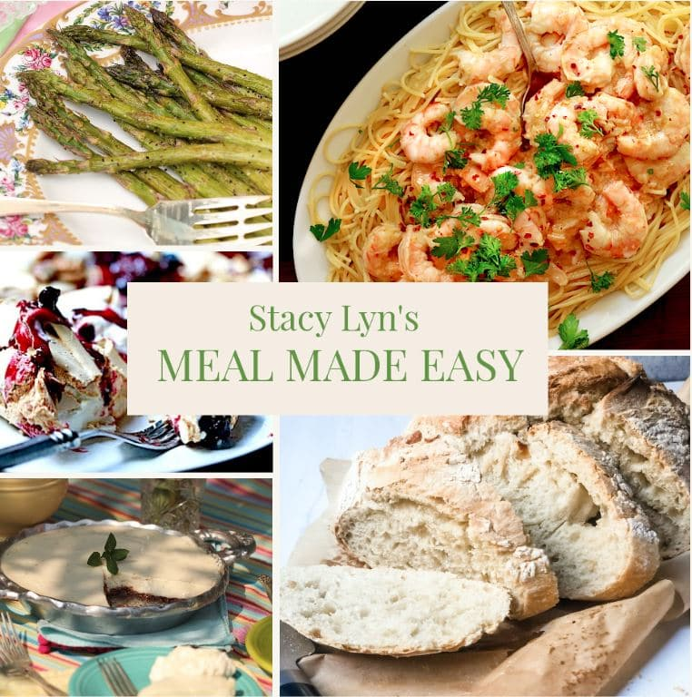 Stacy Lyn's Meal Made Easy: Shrimp Scampi