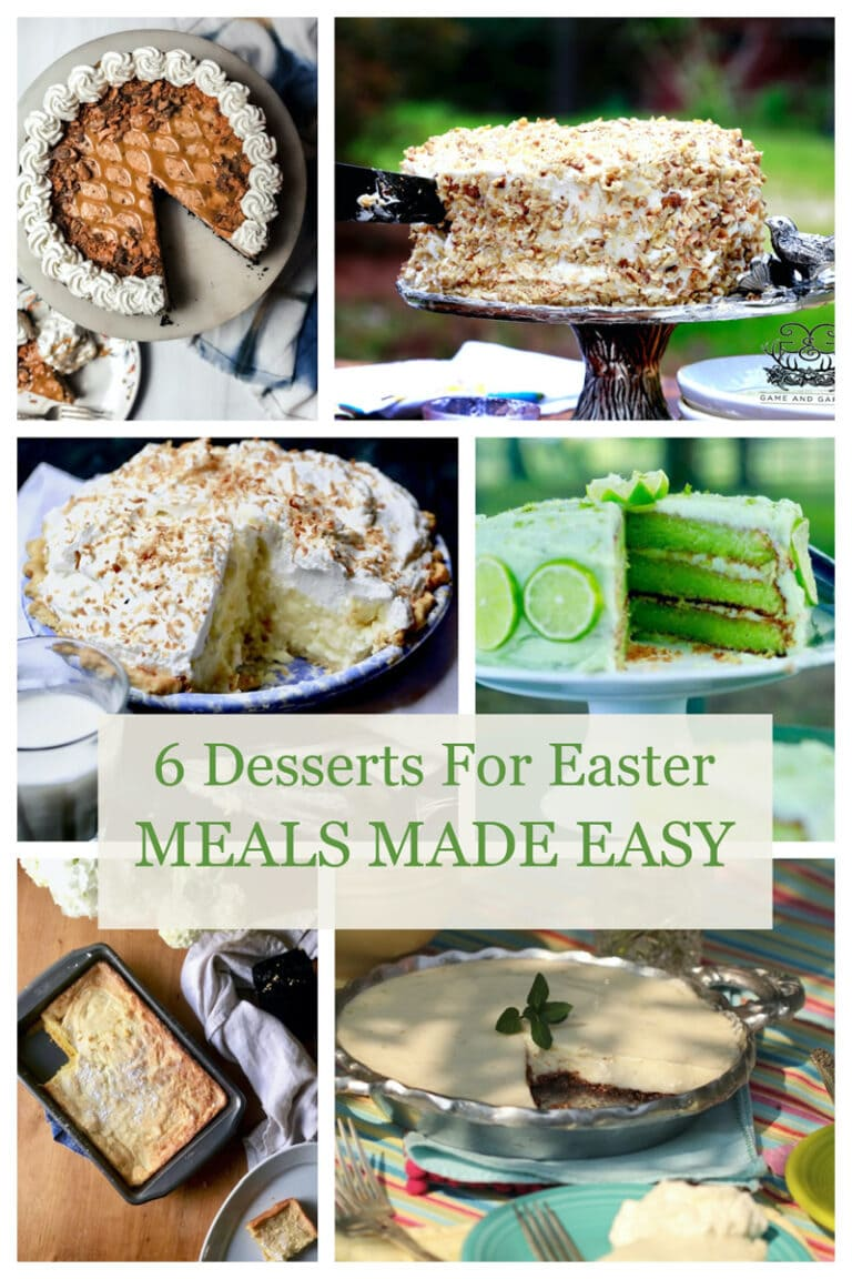 Simple Easter Desserts – Stacy Lyn's Meals Made Easy